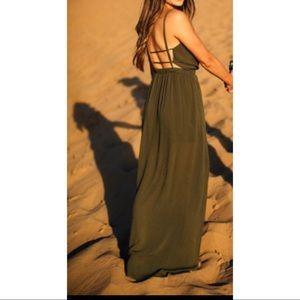 810866e1ba2 Lulu s Dresses - Lulus Lost in Paradise Olive Green Maxi Dress